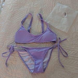 Lavender Zaful Bikini